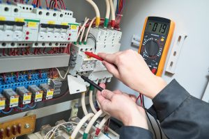 PLC Cabinet Troubleshooting Wiring